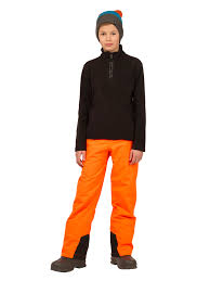 PROTEST Bork JR Bright Orange pant